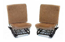 VW TYPE 1 BUG 1965-1967 SEDAN ORIGINAL FRONT SEAT BACK REST & BOTTOM SEAT PADS
