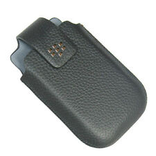 NEW OEM Blackberry Curve 9220 9310 9315 9320 9330 BK Leather Swivel Holster Case