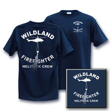 WILDLAND H E L I T A C K CREW  fire t-shirt  LARGE other sizes in our store