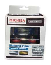 Michiba H11 12v 55w 5000K Diamond Vision Bulbs (White)