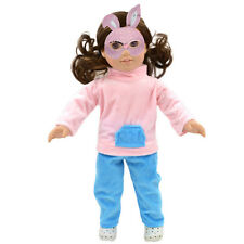 Handmade Pink & Blue Clothes Coat Pants for 18inch American Girl Doll Party Gift