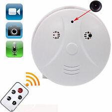 DVR Spy Hidden Video Audio Camera Smoke Detector Motion Detection 1280x960 30FPS