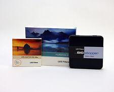 Lee Filters Foundation Holder Kit + Lee Big Stopper & Lee 49mm Standard Ring