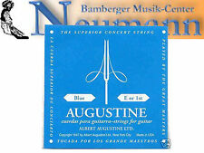 Azul E1 2 Set Konzert Guitarra Acordes Augustine alto tensión Cuerdas de nylon