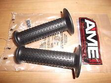 NEW BMX AME A'ME CAM GRIPS BLACK OLD SCHOOL SPIRIT OLD FONT