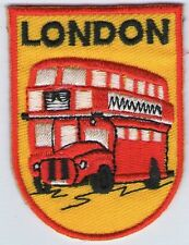 écusson ECUSSON PATCH THERMOCOLLANT PATCH BUS LONDON LONDRES