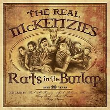 THE REAL MCKENZIES - RATS IN THE BURLAP  VINYL LP + DOWNLOAD NEW+