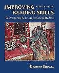 Improving Reading Skills: Contemporary Readings for College Students, Spears, De