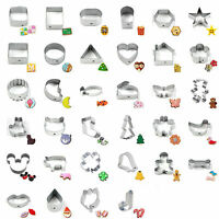 32 Shapes Stainless Steel Metal Cake Decorating DIY Cutter Fondant New
