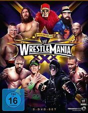 WWE Wrestlemania 30 XXX 2014 3er [DVD] + Hall of Fame Zeremonie NEU DEUTSCH