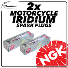 2x NGK Spark Plugs for CAN-AM (BRP) 998cc Spyder RT Ø12mm Plug 12- 13 No.4347