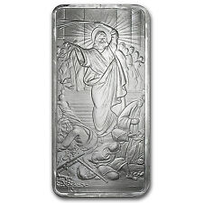 10 oz Silver Bar - Jesus Clears the Temple - SKU #88726