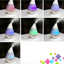 LED USB Essential Oil Ultrasonic Air Humidifier Aroma therapy Diffuser