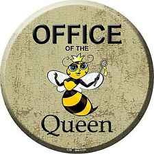 Office Of The Queen Round Wall Sign 300mm diameter  (sb)