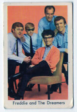 1960s Swedish Pop Star Card UK Manchester band Freddie and the Dreamers