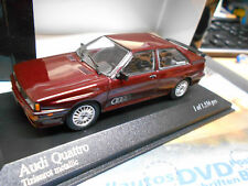 Audi Quattro Turbo Coupe 10v 1981 Dark Red rojo pma Minichamps 1:43