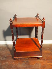 engl.Tischchen Mahagonie REGENCY/VIKTORIAN um 1850 Beistelltisch Nachttisch -TOP