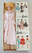 Rare Vintage Japanese Dressed Box Barbie Doll 1642 Platinum Bubble Cut