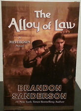 The Alloy of Law by Brandon Sanderson - SIGNED  First Hb. Edn. Mistborn #4