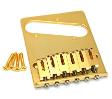 TB-0030-002 Gotoh Gold High Mass Deluxe Bridge for Vintage Fender Tele®