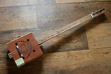 Shonky ShonKybox 3, Chaîne 3 Slide Guitare cigar box guitare. Ashton Box. primitive Blues!
