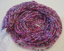 10/0 HANK SILVER LINED PURPLE MIX CZECH GLASS SEED BEADS