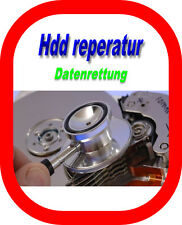 Recuperación de datos servicio HDD defectuoso reparación Data Recovery Repair