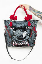 Iron Fist Clothing - Women's Wolfbeater Tote with Red Bow Straps