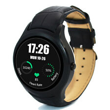 NO.1 D5+ GPS Waterproof Bluetooth Smart Watch  Android 5.1 WiFi SIM Card Black