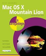 OS X Mountain Lion In Easy Step  by Nick Vandome ( 2012 ) Very Good Covers OS X