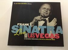 Frank Sinatra - Live from Las Vegas (Live Recording, 2005) CD