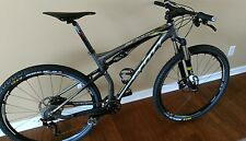 scott spark mountain bike large spark 950 upgraded XT , FOX and carbon