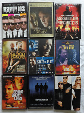 A Beautiful Mind DVD,& 8 Other DVD Movies- Reservoir Dogs,Get Shorty,Mystic Rive