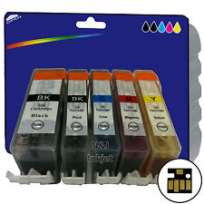 1 Set of Compatible Printer Ink Cartridges for Canon Pixma MG5250 [525/526]