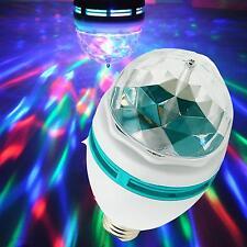 360°LED Lampe Leuchte Lichteffekt Discokugel Auto-Rotation Bühnenlicht  GE