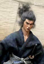 RARE 1/6 CUSTOM action figure 宮本武藏 Miyamoto Musashi 浪客行 dam hot toys DX 12""