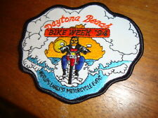 Daytona Beach Bike Week '94 1994 Patch World's Largest Motorcycle Event harley d