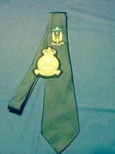 RAF Regiment II Squadron (Airborne) tie and blazer badge set