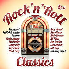 CD Rock'n'Roll Classics  von Various Artists  5CDs