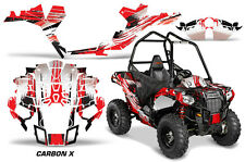 "Polaris Sportsman ""ACE"" ATV Graphic Kit Wrap Quad Accessories Decals CARBON X R"