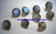 AAA Quality 25 Piece Natural Labradorite 2x2 mm Round Cut Loose Gemstone