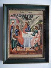 Heinrich Porzellan Ikone Nr. 9 Heilige Dreifaltigkeit - mit OVP + Zertifikat!