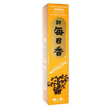 Amber Morning Star Traditional Japanese Incense Includes 50 Sticks & Holder