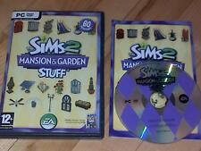 The Sims 2 Mansion & Garden cosas expansión Pack PC CD-ROM / Windows