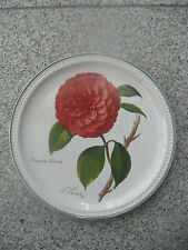 ASSIETTE DE COLLECTION VILLEROY & BOCH camellia 1989