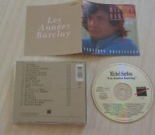 CD ALBUM BEST OF LES ANNEES BARCLAY MICHEL SARDOU 20 TITRES 1993