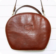 Vintage GIUDI Leder Tasche Handtasche Bag Leather Purse Umhänge- Schultertasche