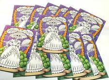 12 COLORING PADS ! CATRINA  DAY OF THE DEAD    DIA DE LOS MUERTOS      AWESOME !