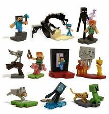 Minecraft Craftables Figures Series 1 Complete Set Of 10 Mojang J!nx