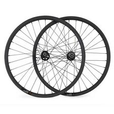 29er carbon asymmetric mtb wheelset 33 width carbon wheels for XC mountain bike